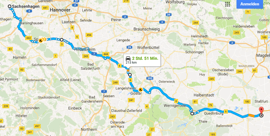 Sachsenhagen - Stassfurt